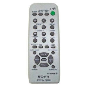 Пульт для Sony MHC-WZ5 (фото пульта)