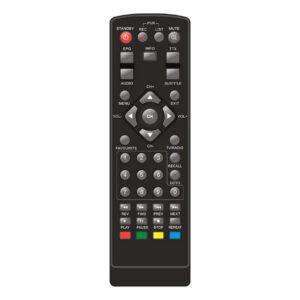 Пульт для ORAVA DVB-20 H.265 (фото пульта)