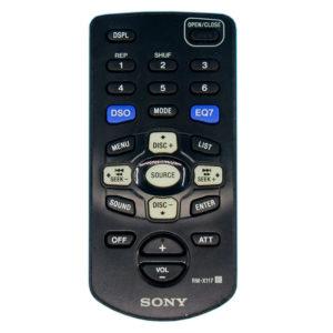 Оригинальный пульт для Sony RM-X117 (фото пульта)