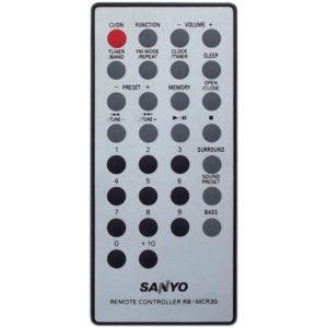 Оригинальный пульт для Sanyo RB-MCR30 (фото пульта)
