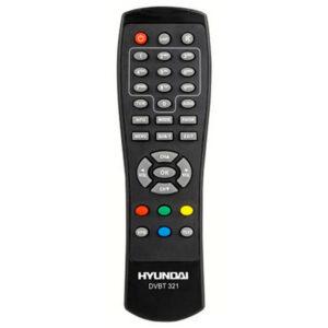 Оригинальный пульт для Hyundai DVB-T321 DVB-T440 (фото пульта)