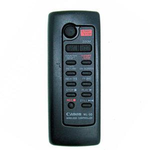 Оригинальный пульт для Canon WL-50 (фото пульта)