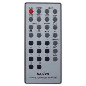 Пульт для Sanyo RB-MCR30 (фото пульта)