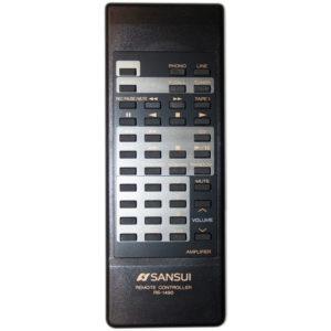 Пульт для Sansui AU-X417R (фото пульта)