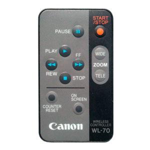 Пульт для Canon UC3000 (WL-70)