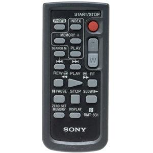 Оригинальный пульт для Sony RMT-831 (фото пульта)
