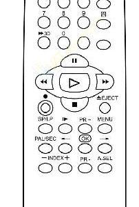 Пульт для Daewoo R2PAB1 (фото пульта)